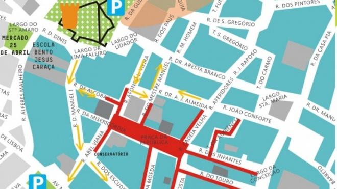 Alterações de trânsito em Beja
