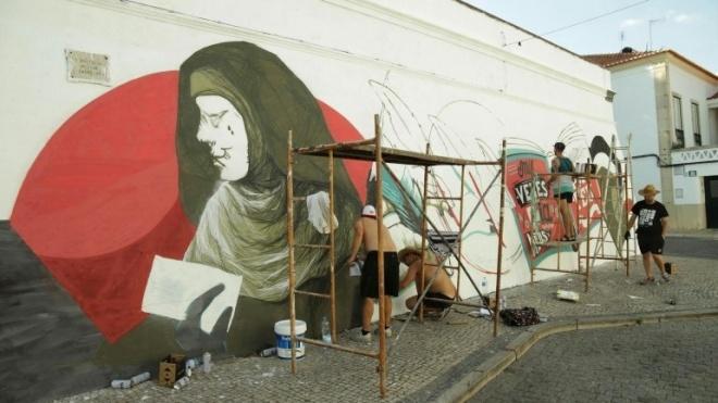 A arte na rua para apreciar em Beja