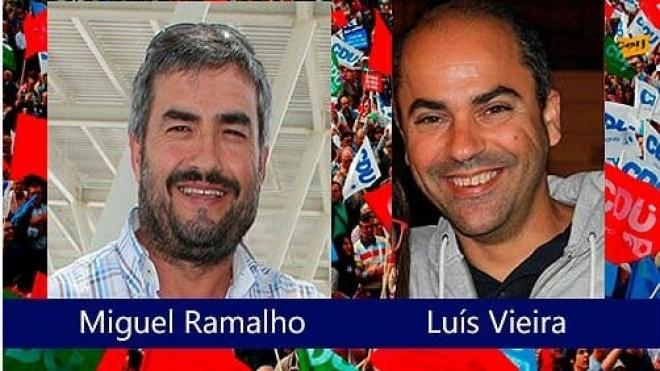 Miguel Ramalho e Luís Vieira candidatos da CDU às UF de Beja