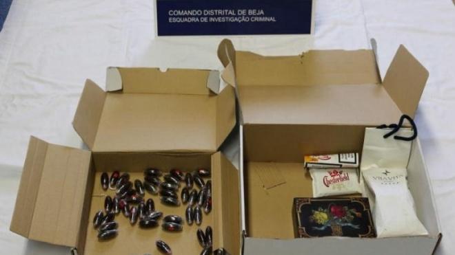 Detenção por tráfico de estupefacientes