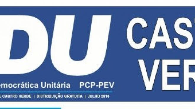 """CDU Castro Verde """"sinónimo de confiança e responsabilidade"""""""