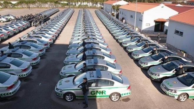 GNR de Beja recebe 12 viaturas novas