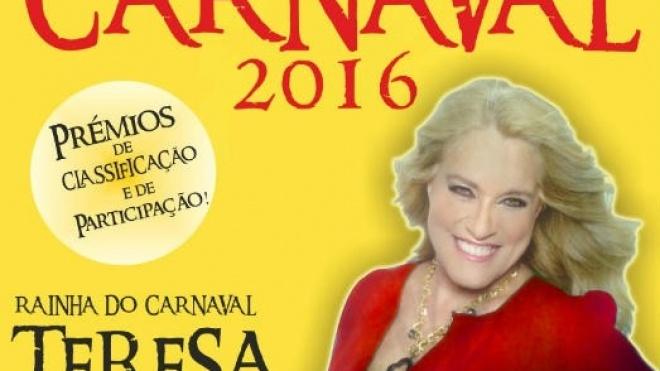 Teresa Guilherme é rainha do Carnaval de Almodôvar