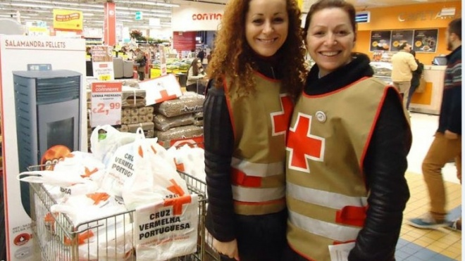 Cruz Vermelha e Missão Continente promovem recolha de alimentos