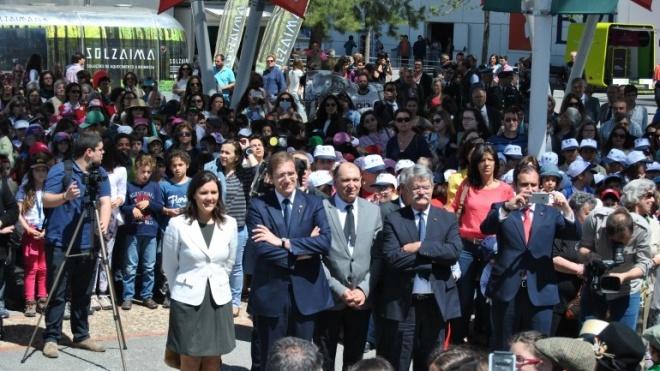 800 crianças cantam Castelo de Beja