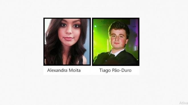 Tiago Pão-Duro e Alexandra Moita mandatários da juventude da CDU em Moura