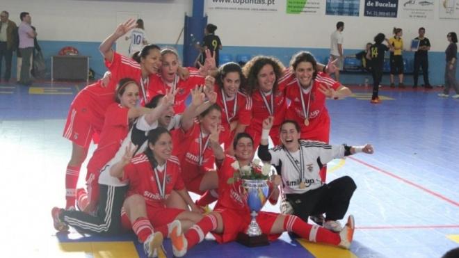 Equipa de futsal do Benfica estagia em Castro Verde