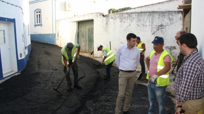 Ourique investe mais 150 mil euros em alcatroamento