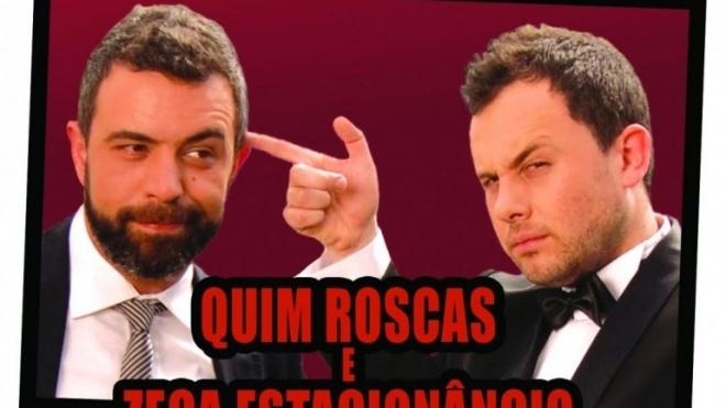 Quim Roscas e Zeca Estacionâncio em Beja