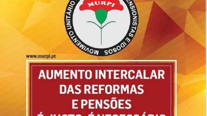 MURPI sai à rua em defesa dos direitos dos reformados