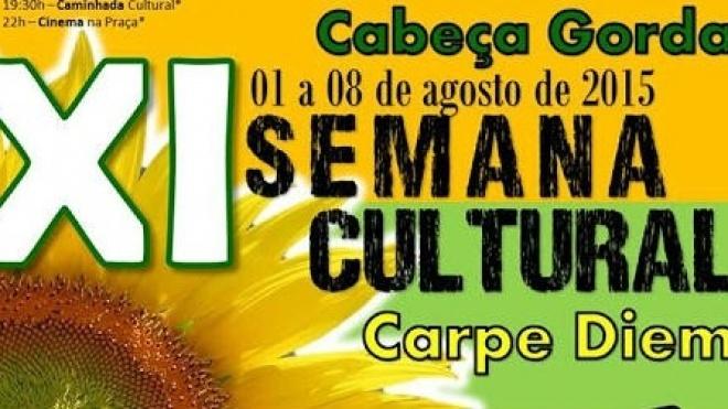 XI Semana Cultural de Cabeça Gorda