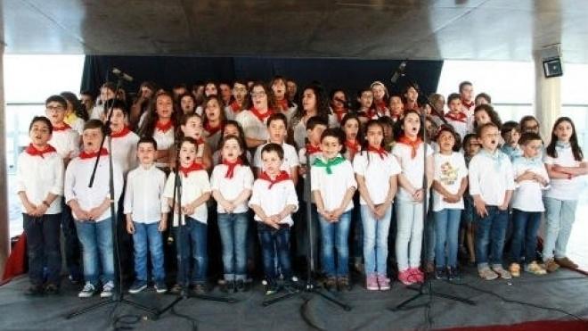 Actividades de expressão motora e cante alentejano nas escolas de Vidigueira