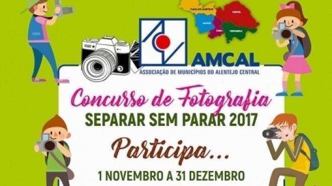 """Concurso de fotografia """"Separar sem parar 2017"""""""
