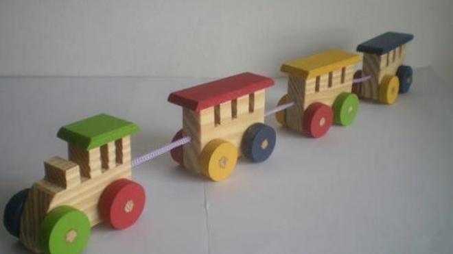 Odemira com exposição e venda de brinquedos artesanais