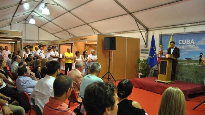 Miguel Araújo promete enchente na Feira Anual de Cuba. A maior de sempre em número de expositores!