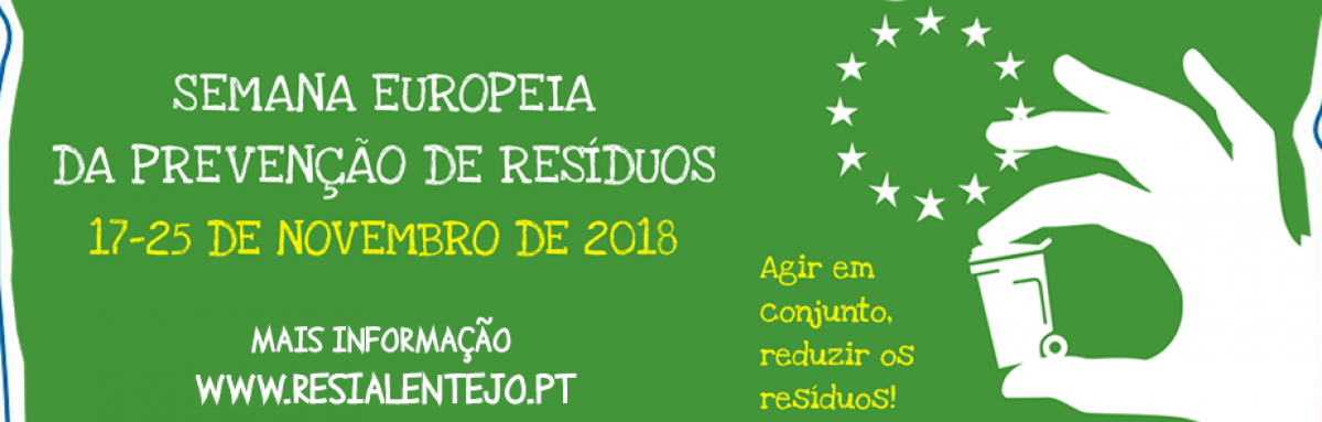 Resialentejo participa na Semana Europeia da Prevenção dos Resíduos