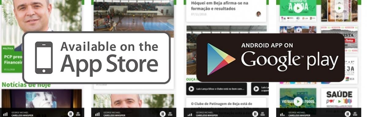 APP da Voz da Planície disponível para download.