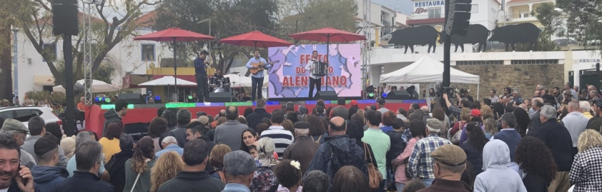 """Feira do Porco Alentejano é o """"momento alto"""" para o concelho de Ourique"""
