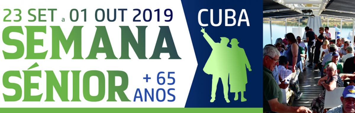 Semana Sénior 2019 no concelho de Cuba