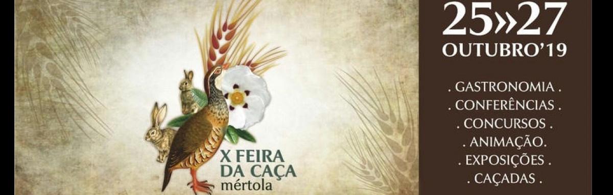 X Feira da Caça em Mértola de 25 a 27 de outubro