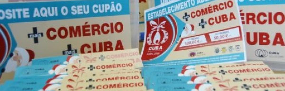 """Município de Cuba dinamiza campanha """"+Comércio +Cuba"""""""
