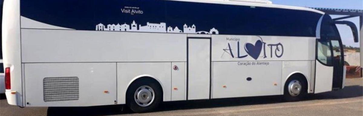 Câmara de Alvito adquiriu novo autocarro