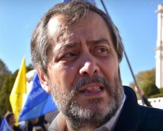 Mário Nogueira participa num plenário de professores em Beja