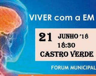 """Castro Verde promove sessão """"Viver com Esclerose Múltipla"""""""