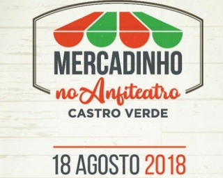 """Mercadinho"" no Anfiteatro do Mercado Municipal de Castro Verde"