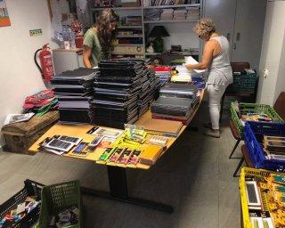 Cáritas de Beja faz balanço da campanha de recolha de material escolar
