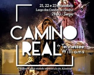 "Baal 17 apresenta em Serpa a peça ""Camino Real"""