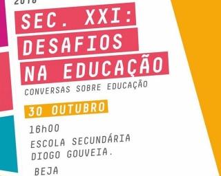 """Inscrições abertas para o debate """"Séc. XXI: Desafios na Educação"""""""