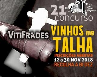 Inscrições para 21º Concurso de Vinhos de Talha