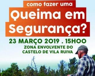 """Ação """"Como fazer uma queima em segurança?"""" em Vila Ruiva"""