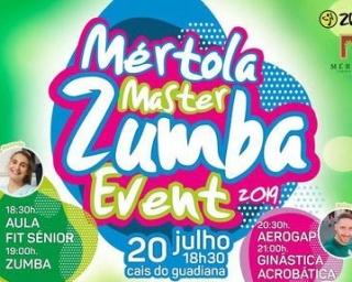 Mértola Master Zumba Event no cais do Guadiana