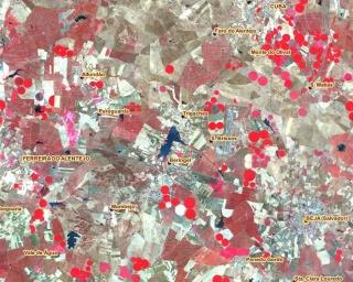 Alqueva: EDIA acompanha evolução das áreas regadas com imagens de satélite