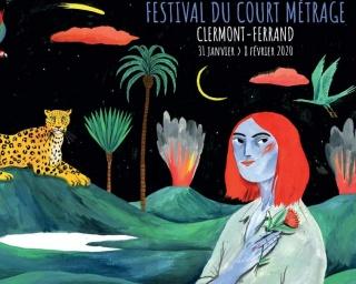 Susa Monteiro desenhou o cartaz do Festival Clermont-Ferrand 2020
