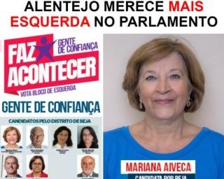 """""""Mariana Aiveca abre campanha em casa"""""""