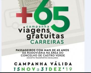 """Câmara promove campanha """"Castro Verde+65"""""""