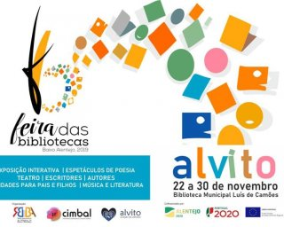 Feira das Bibliotecas em Alvito até 30 de novembro