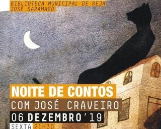 Biblioteca: recebe noite de contos com José Craveiro