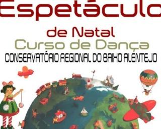 CRBA apresenta espetáculo de Natal do curso de dança