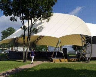 Anfiteatro do Jardim Público de Ferreira do Alentejo vai ter nova cobertura