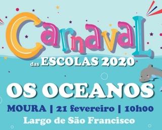"""""""Os Oceanos"""" é o tema central do Carnaval das Escolas de Moura"""