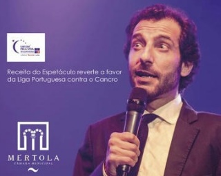 Receitas do espetáculo de Aldo Lima em Mértola a favor da LPCC