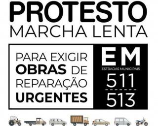 População exige reparações urgentes nas EM511 e 513 com marcha de protesto