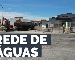 EMAS procede a trabalhos de melhoria do abastecimento de água no Parque de Feiras