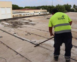 Ourique procede a obra de 23 mil euros no pavilhão gimnodesportivo
