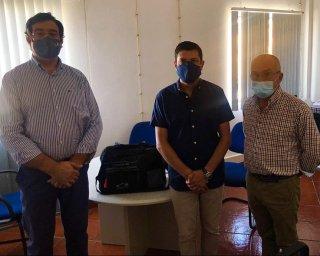Cuba recebeu oferta de equipamento para desinfeção de viaturas