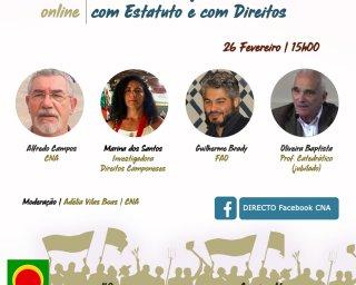 """CNA: """"Fortalecer a Agricultura Familiar com Estatuto e com Direito"""""""